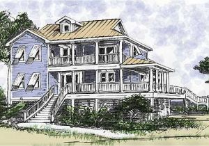 House Plans Built On Pilings Beach House On Pilings Plans Two Stories Beach House Plans