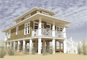 House Plans Built On Pilings Beach House Plans On Pilings for Narrow Lots Farmhouse