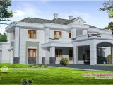 House Plans Colonial Style Homes April 2013 Kerala Home Design and Floor Plans