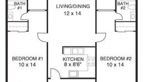 House Plans for 2 Bedroom 2 Bath Homes Elegant House Plans 2 Bedrooms 2 Bathrooms New Home