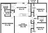 House Plans for 2 Bedroom 2 Bath Homes Fascinating 3 Bedroom 2 Bath House Plans the Wooden Houses