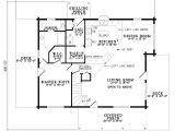 House Plans for 2 Bedroom 2 Bath Homes Plan 110 00928 2 Bedroom 2 Bath Log Home Plan
