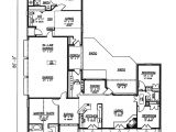 House Plans for 2400 Sq Ft southern Style House Plan 4 Beds 3 Baths 2400 Sq Ft Plan