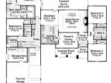 House Plans for 2400 Sq Ft Traditional Style House Plan 4 Beds 3 Baths 2400 Sq Ft