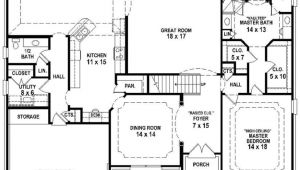 House Plans for 3 Bedroom 2.5 Bath New 3 Bedroom 2 5 Bath House Plans New Home Plans Design