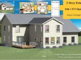 House Plans for Existing Homes Two Story Addition