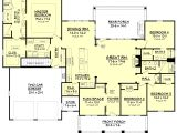 House Plans for Family Of 4 Craftsman Style House Plan 4 Beds 3 Baths 2639 Sq Ft