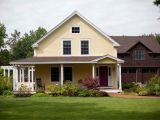 House Plans for Farmhouses An Idyllic Post and Beam Farmhouse From Yankee Barn Homes