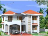 House Plans for Indian Homes Home Design Sqfeet Storey Home Design Indian House Plans