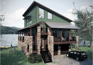House Plans for Lakefront Homes Farmhouse Plans Lake House Plans
