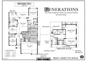 House Plans for Multigenerational Families Multigenerational House Plans Smalltowndjs Com