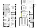 House Plans for Narrow Lots On Waterfront Beach House Plans Narrow Lot Plan Houses On Small Lots