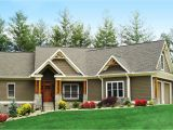 House Plans for Ranch Homes Craftsman Inspired Ranch Home Plan 15883ge