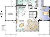 House Plans for Single Person Lake Front Cottage House Plan