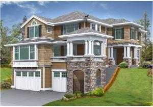 House Plans for Sloped Land House Plans and Design Modern House Plans Sloped Lot