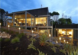 House Plans for Sloped Land Modern House Plans for Sloping Land