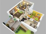 House Plans for Three Bedroom Homes 25 Three Bedroom House Apartment Floor Plans