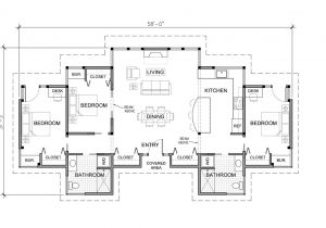 House Plans for Three Bedroom Homes 3 Bedroom House Plans One Story Marceladick Com