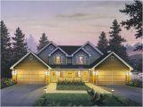 House Plans for Two Family Home Countryridge Farmhouse Duplex Plan 007d 0024 House Plans