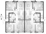 House Plans for Two Family Home Lehigh Multi Family Fourplex Plan 032d 0591 House Plans
