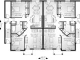House Plans for Two Family Home Marland Multi Family Fourplex Plan 032d 0380 House Plans