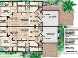 House Plans for Two Family Home Mediterranean Multi Family House Plan 66174gw 1st