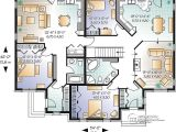 House Plans for Two Family Home Multi Family House Plan Multi Family Home Plans House