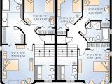 House Plans for Two Family Home Multi Family Plan 64908 at Familyhomeplans Com