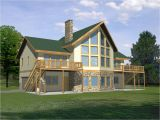 House Plans for Waterfront Home Waterfront House with Narrow Lot Floor Plan Waterfront