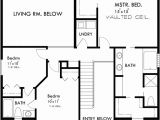 House Plans for Wide but Shallow Lots 3 Bedroom House Plans 40 Wide House Plans Narrow Lot