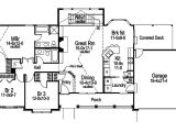 House Plans for Wide but Shallow Lots Foxridge Country Ranch Home Plan 007d 0136 House Plans