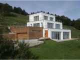 House Plans On Hill Slopes Homes On A Slope Minimalist Contemporary House In