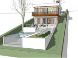 House Plans On Sloped Land the Architectmodern House Plan for A Land with A Big