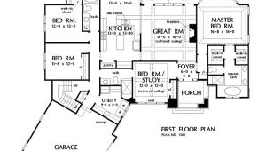 House Plans Open Floor Layout One Story One Story House Plans with Split Master and Open Concept