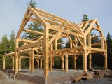 House Plans Timber Frame Construction Timber Frame House Cold Climate Part Dma Homes 84984
