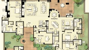 House Plans Tucson Hometalk Tucson Custom Home Hacienda Floor Plan