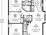 House Plans Under 1100 Square Feet Traditional Style House Plan 2 Beds 2 00 Baths 1100 Sq