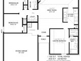 House Plans Under 1100 Square Feet Traditional Style House Plan 3 Beds 2 00 Baths 1100 Sq