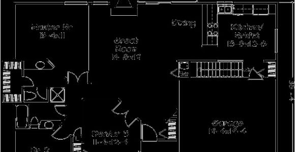 House Plans Under 1400 Square Feet Ranch Style House Plan 2 Beds 2 Baths 1400 Sq Ft Plan