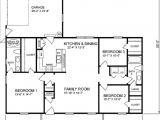 House Plans Under 1400 Square Feet Traditional Style House Plan 3 Beds 2 Baths 1400 Sq Ft