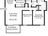 House Plans Under 700 Square Feet 2 Bedroom Floor Plans for 700 Sq Ft House Home Deco Plans