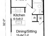 House Plans Under 700 Square Feet House Plans Between 600 and 700 Square Feet