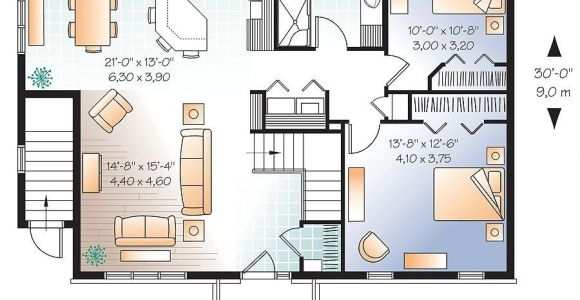 House Plans with 2 Bedrooms In Basement 2 Bedroom House Plans with Walkout Basement Lovely