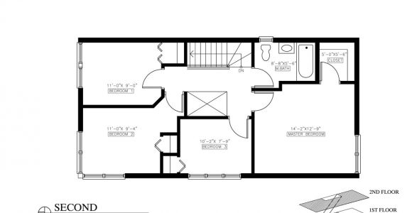 House Plans with 2 Bedrooms On First Floor Small House Bedroom Floor Plans and 2 Open Plan