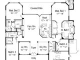 House Plans with 2 Master Suites On Main Floor Two Master Bedroom Floor Plans thefloors Co