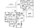 House Plans with 2 Separate Living Quarters Ranch House Plans Darrington 30 941 associated Designs