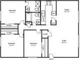 House Plans with 3 Bedrooms 2 Baths 3 Bedroom 2 Bath Floor Plans Marceladick Com