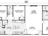 House Plans with 3 Bedrooms 2 Baths Home 28 X 56 3 Bed 2 Bath 1493 Sq Ft Little House