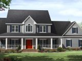House Plans with A Wrap Around Porch Country Homes Plans with Porches