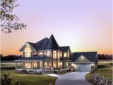 House Plans with attached 4 Car Garage House Plan 86939 Victorian Plan with 2560 Sq Ft 4